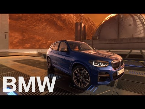 BMW X3. On a 360°mission to Mars. A virtual test drive.