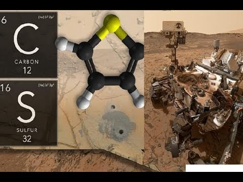 Curiosity Rover Finds Ancient 'Building Blocks for Life' on Mars