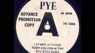 Tony Colton - I Stand Accused