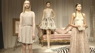 See Alice + Olivia's Spring 2014 Collection in Action | Fashion Week Spring 2014