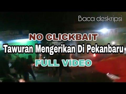 SADIS!!! Tragedi Tawuran Antar Kelompok di Jembatan Siak IV Pekanbaru (16/05/2019)