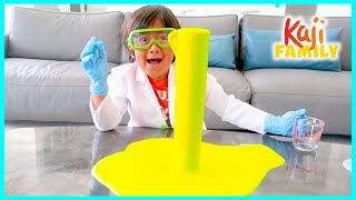 Easy DIY Science Experiments for Kids Elephant Toothpaste and 1hr learning