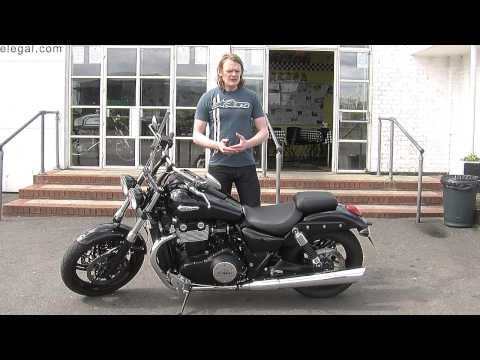 2011 Triumph Thunderbird Storm Review