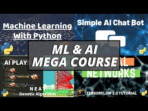 Python Machine Learning & AI Mega Course - Learn 4 Different ...