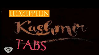 Tutorial Led Zeppelin - Kashmir with tab