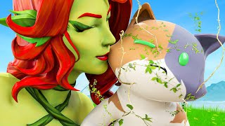 Poison IVY'S TOXIC KISS INFECTS KIT.... ( Fortnite Short )