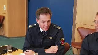 Pressekonferenz Zum Großbrand Rheingoldhalle Mainz Vom 21.05.2019