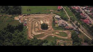 Cupcross Racing Honda CUB Malaysia by Drone FPV