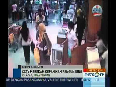 Detik Detik Gempa 6,5 SR di Cilacap