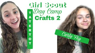Girl Scout Day Camp - Crafts 2