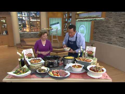 """Video """"Healthy Recipes"""" Slow Cooker Cookbook by Crock Pot with David Venable"""