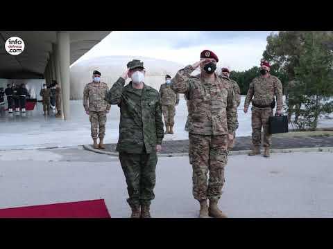 El JEMAD visita el contingente español desplegado en el Líbano en el marco de la UNIFIL