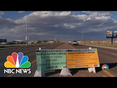 How Hard-Hit Navajo Nation Is Flattening Its Coronavirus Curve | NBC Nightly News