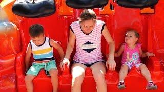 Супер Парк Развлечений Видео для Детей Funny Outdoor Playground for kids Children