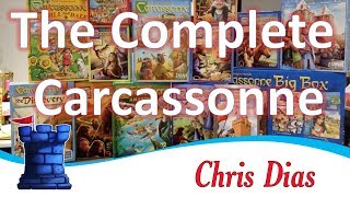 Carcassonne 8: Bridges, Castles & Bazaars | GloryHunter82