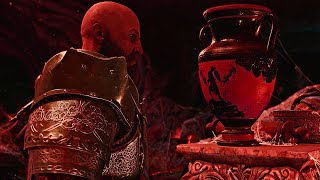 God of War - Kratos Finds Spartan Pottery.......of Himself