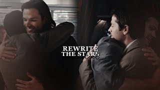 Castiel & Sam - Rewrite the stars