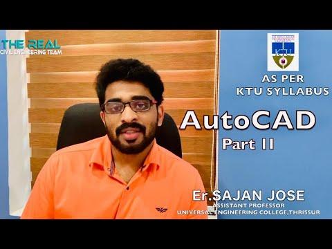 ഒരു മണിക്കൂർ കൊണ്ട് Auto CAD പഠിക്കാം|PART 2|Er.SAJAN JOSE| ONLINE AUTOCAD MALAYALAM CLASSES