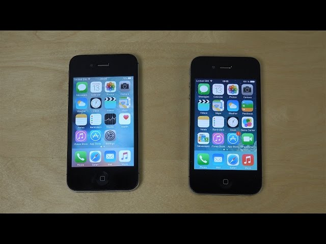 Speed test: iPhone 2 G, 3 G, 3 G S and iPhone 4 in comparison