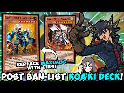 Post Ban-List KOA'KI MEIRU DECK Koa'ki Meiru STILL META Yu-Gi-Oh Duel Links  - wat007