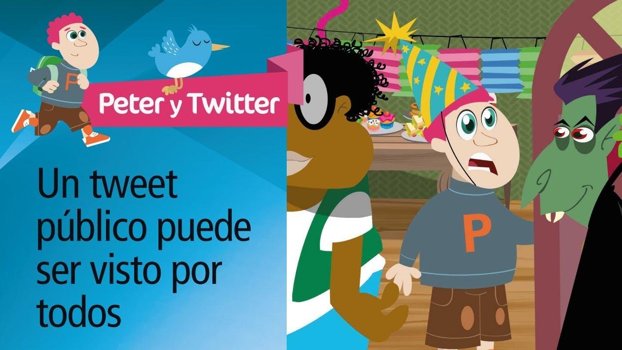 "Consejo 2: ""Fiesta"". Decálogo uso responsable Twitter. PantallasAmigas"