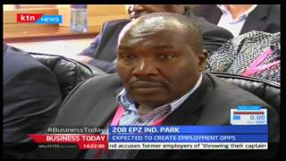 KTN Business Today 19th December 2016 - Chinese companies investing Kshs 20 Billion in EPZ Park