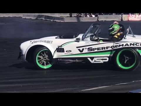 SEMA Las Vegas 2018 Drifting Cobras Mustang and Ford Trucks