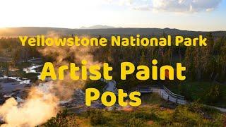 Artists Paintpots, Yellowstone National Park