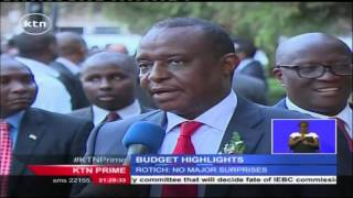 Breaks Down Of Kenya's 2016-2017 Financial Year Budget