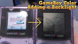 Finally   A Gameboy Color Backlight Mod!