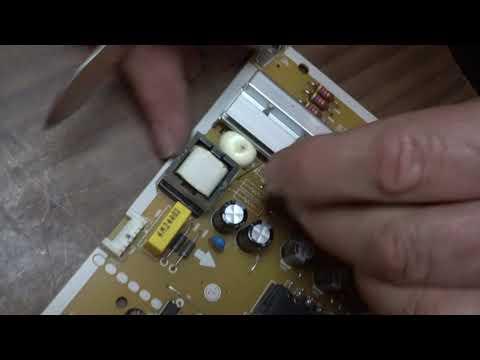Доработка блока питания EAX66203001 LGP3942D-15CH1 (ограничение тока подсветки).