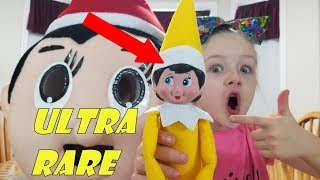 Special Delivery GIANT Red Elf Chippy Brings YELLOW ULTRA RARE Elf on the Shelf!!