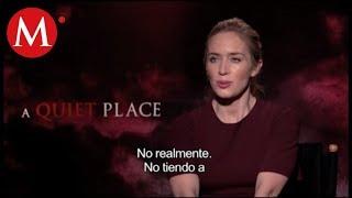 """Una gran entrevista al elenco de """"Un lugar en silencio"""""""