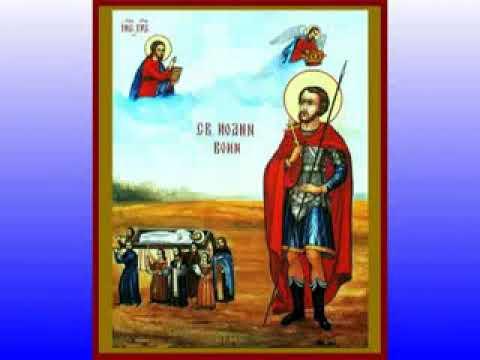 Молебен с акафистом святому мученику и чудотворцу Иоанну Воину