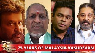 75 Years of Malaysia Vasudevan - Celebrities of the Tamil Film Fraternity wish Malaysia Vasudevan