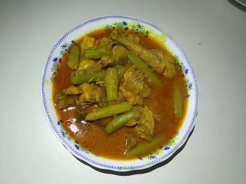ডাটা দিয়ে মুরগির মাংস রাান্নর রেসিপি ।  Cooking recipe of chicken with data |