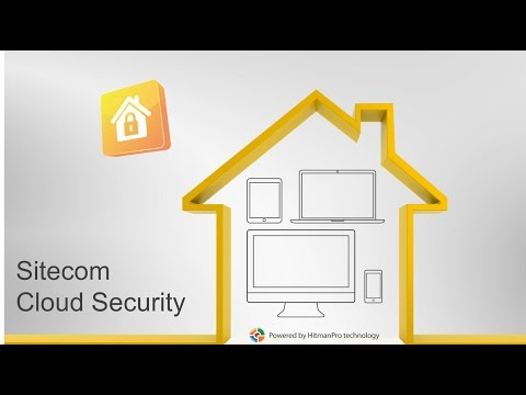 Sitecom Cloud Security - Presentatie Video