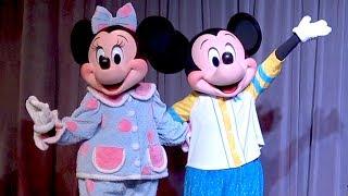 Mickey Mouse 90th Birthday Character Pajama Party At D23 Destination D: Minnie, Daisy, Donald, Goofy