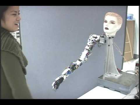 anthropomorphic robotic arm: handshake