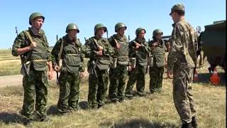 На полигоне в Рощинском прошли состязания военно-патриотических клубов области