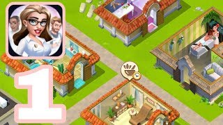 MY BEAUTY SPA - Gameplay Walkthrough Part 1 iOS / Android - City Building Story Game
