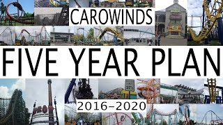 Dive Hawk, Carowinds 2021 | EndlessVideo