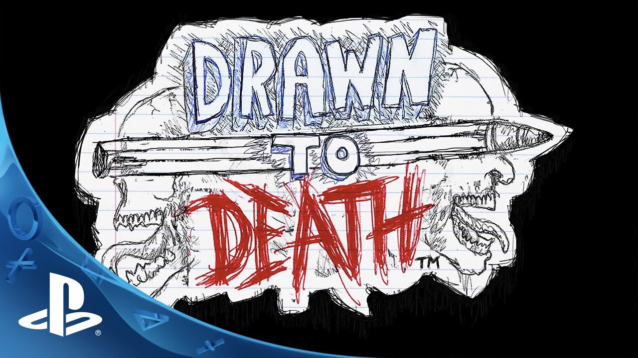 Drawn to Death, a Hand-Drawn Arena Shooter, Coming to PS4
