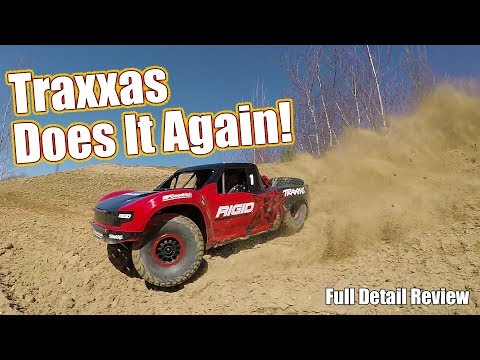 Incredible Scale Off-Road RC Trophy Truck! - Traxxas Unlimited Desert Racer Review | RC Driver