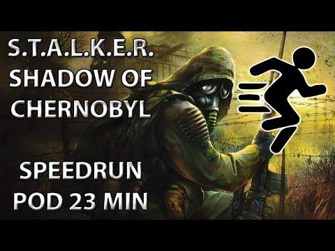 S.T.A.L.K.E.R. - SoCH (pokus o) SPEEDRUN POD 23 MIN