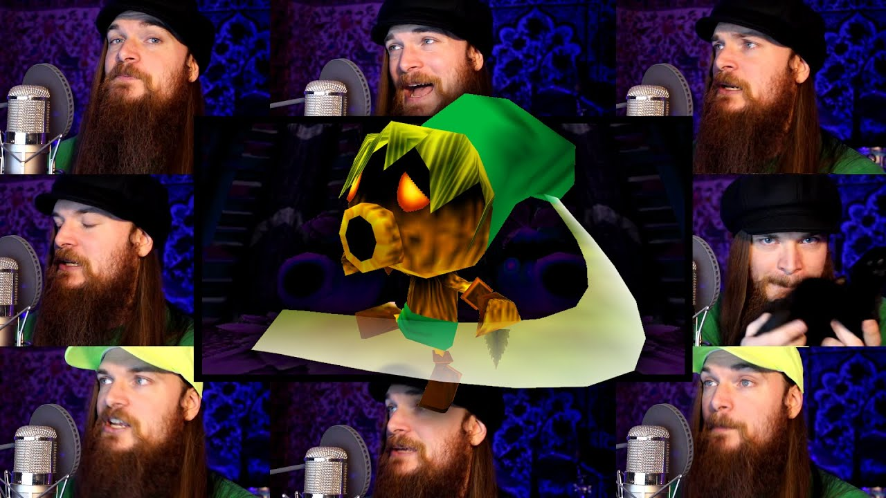 Smooth McGroove Sings More Glorious Zelda Themes In Acapella