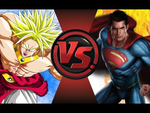 BROLY vs SUPERMAN! Cartoon Fight Club Episode 47