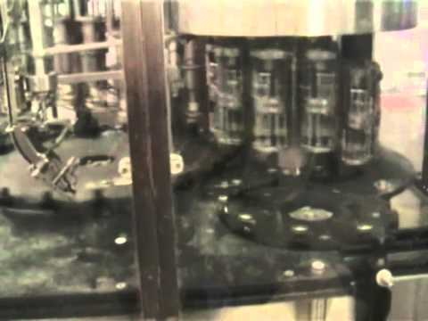 Youtube video of a bottling line for miniatures