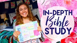 How To IN-DEPTH (Inductively) Study The Bible - Dig Deeper into the Bible!