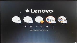 How To Install macOS 10 12 3 Sierra onto Lenovo ThinkPad X220
